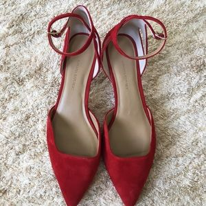 386d14ea3f20 Banana Republic Shoes - Banana Republic side cutout kitten heel size 8